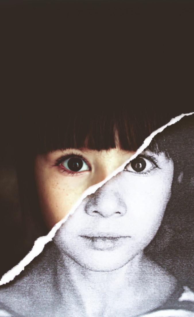 Kind auf der Startseite