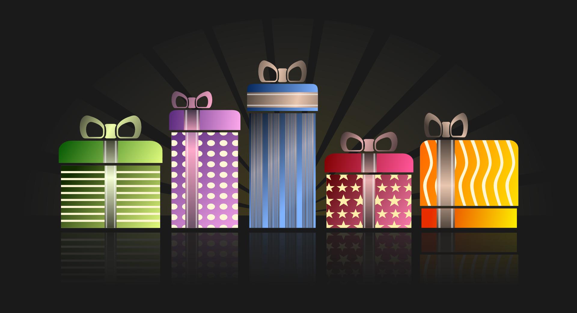 Geschenke für die Aktion Wunschzettel